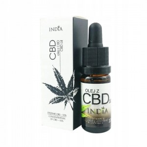 India Cosmetics - Olej z CBD 10% 10ml Bio