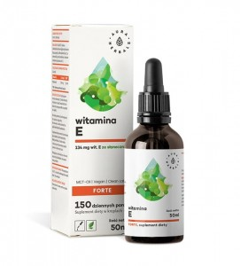 Aura Herbals - Witamina E Forte MCT-Oil - Krople 50ml