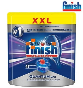 Finish Quantum Regular - Tabletki do Zmywarki - 45 szt