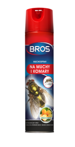 BROS - Muchospray - Spray na Muchy i Komary - 400ml